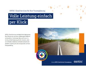 ORTEC Cloud Services für Ihre Tourenplanung